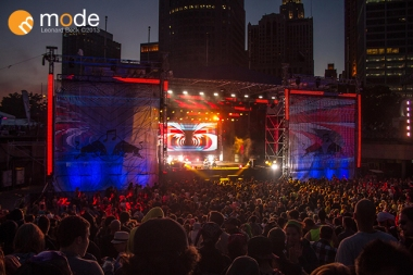 Red Bull Music Academy stage in Detroit
