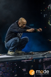 MOBY Performs in Detroit