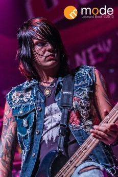 Escape the Fate performs in Detroit