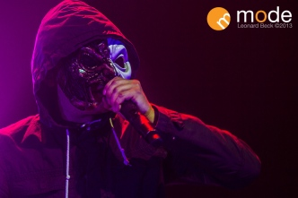 Hollywood Undead performs in Detroit