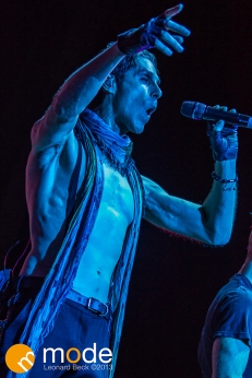 Janes Addiction Performs at RockStar Energy UPROAR Festival in Clarkston Michigan at DTE Energy Music Theater.