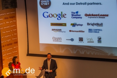 Open Co. DEtroit in Detroit Michigan on Sept 11-12th 2013