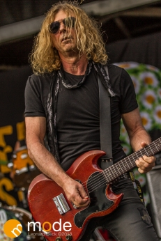 Dead Daisies Performs at RockStar Energy UPROAR Festival in Clarkston Michigan at DTE Energy Music Theater.