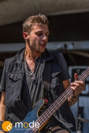 Charming Liars performing AT RockStar Energy UPROAR Festival in Clarkston Michigan at DTE Energy Music Theater.