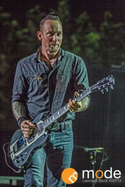 Volbeat performing on Monster Energy Rock Allegiance Tour at Freedom hill in Sterling Heights Michigan August 28th 2013