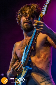 Biffy Clyro performs at Freedom Hill Sterling Heights Michigan on Oct 05 2013