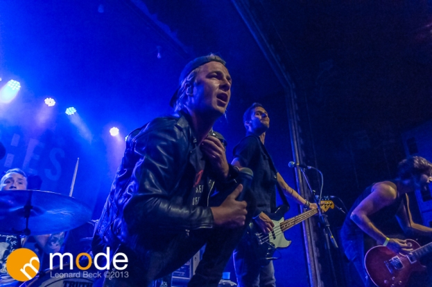 Charming Liars performs at Saint Andrews Hall in Detroit Michigan on Oct 18th 2013