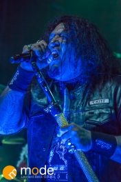 Testament performs in Detroit Michigan on Oct 29th 2013