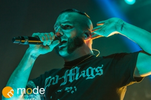 Killswitch Engage performs in Detroit Michigan on Oct 29th 2013