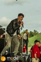 New Politics performs at Freedom Hill Sterling Heights Michigan on Oct 05 2013