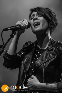 Tegan and Sara performs in Detroit Michigan on Dec 11th 2013