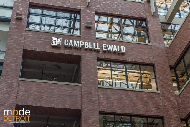 Ad agency Lowe Campbell Ewald new Headquarters in Detroit