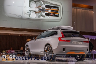VOLVO CONCEPT XC COUPE winner of Best Concept Car at the North American International Auto Show 2014