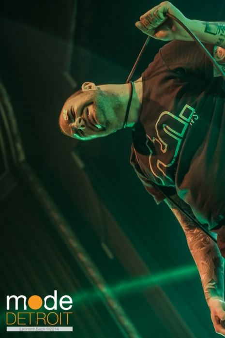 August Burns Red perform at the Royal Oak Music Theatre on March 29th 2014