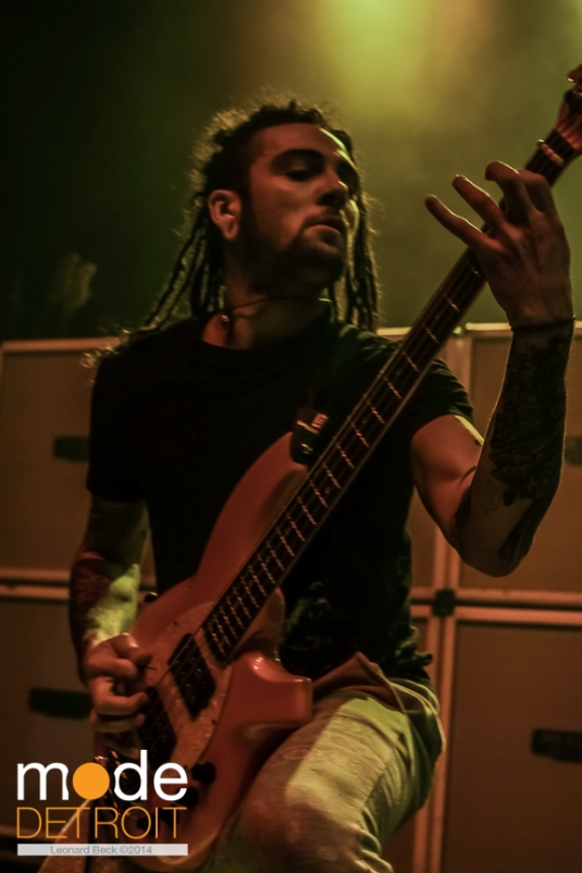 Born of Osiris perform at the Royal Oak Music Theatre on March 29th 2014