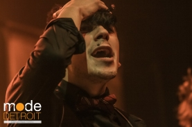 Crown the Empire perform at the Royal Oak Music Theatre on March 29th 2014