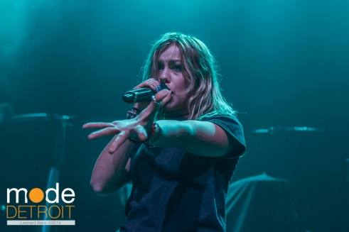 Tonight Alive performs at the The Fillmore on April 6th 2014