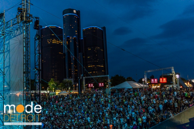 Movement Festival at Hart Plaza Detroit Michigan on May 24-26th 2014