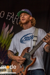 THE STORY SO FAR performing at Vans Warped Tour in Auburn Hills Michigan at The Palace of Auburn Hills on July 18th 2014