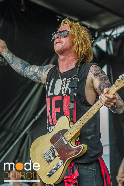 We The Kings performing at Vans Warped Tour in Auburn Hills Michigan at The Palace of Auburn Hills on July 18th 2014
