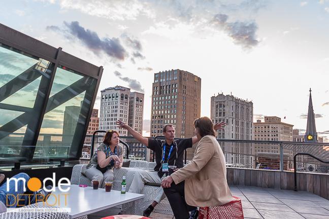 Techweek Detroit 2014: M@dison building rooftop Party