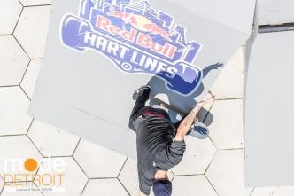 RedBull Hart Lines