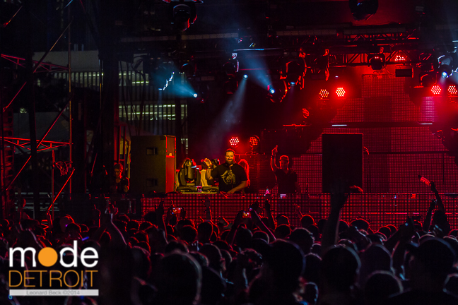 CLAUDE VONSTROKE on the Beatport stage at Movement Festival at Hart Plaza Detroit Michigan on May 24th 2014