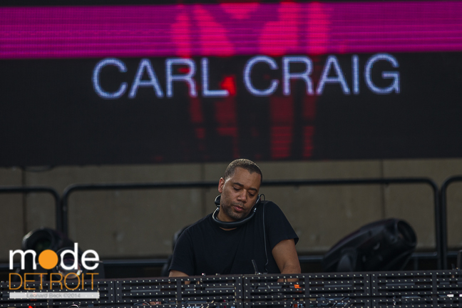 CARL CRAIG performing on the Red Bull stage at Movement Festival at Hart Plaza Detroit Michigan on May 26th 2014