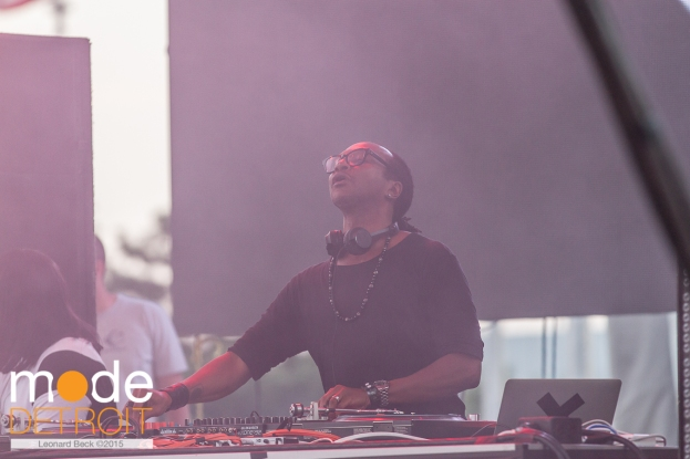 Stacie Pullen playing Thump stage at Movement Festival at Hart Plaza Detroit Michigan on May 23-25th 2015