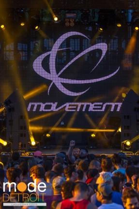 Movement Festival at Hart Plaza Detroit Michigan on May 23-25th 2015
