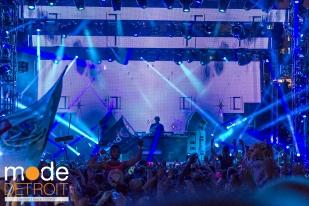 Loco Dice playing at Movement Festival at Hart Plaza Detroit Michigan on May 23-25th 2015