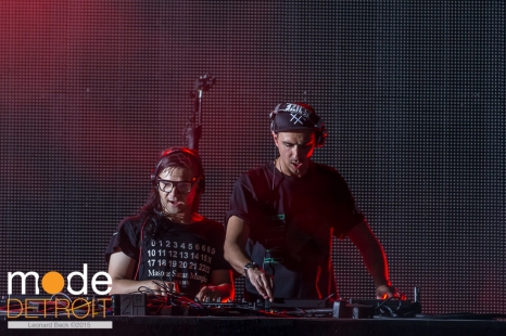 Dog Blood (Skrillex & Boys Noize) playing at Movement Festival at Hart Plaza Detroit Michigan on May 23-25th 2015