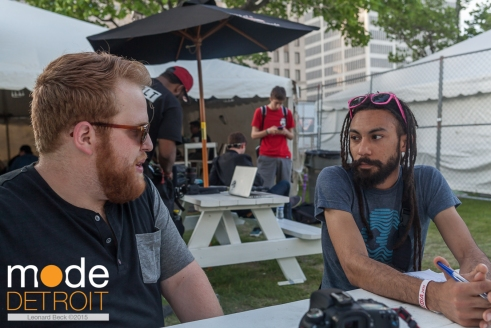 Muzzy Bearr interview at Movement Festival at Hart Plaza Detroit Michigan on May 23-25th 2015
