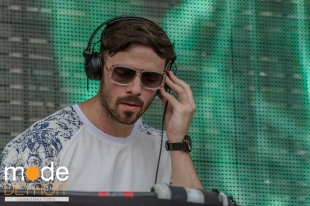 Patrick Topping playing at Movement Festival at Hart Plaza Detroit Michigan on May 23-25th 2015