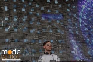 Patrick Topping playing at Movement Festival at Hart Plaza Detroit Michigan on May 23-25th 2015
