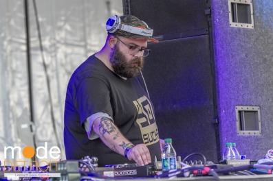 Marshall Applewhite playing at Movement Festival at Hart Plaza Detroit Michigan on May 23-25th 2015