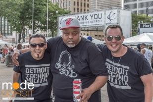 Detroit Techno Milita Movement Festival at Hart Plaza Detroit Michigan on May 23-25th 2015