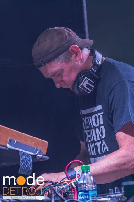 Shawn Rudiman of Detroit Techno Militia playing at Movement Festival at Hart Plaza Detroit Michigan on May 23-25th 2015