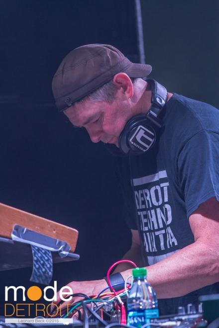 Shawn Rudiman of Detroit Techno Militia playing at Movement Festival at Hart Plaza Detroit Michigan on May 23-25th 2015