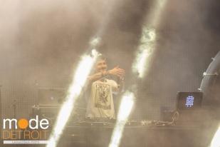 GRIZ playing at Movement Festival Hart Plaza Detroit Michigan on May 23-25th 2015