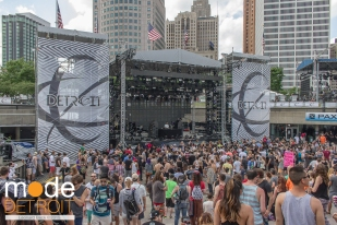 Movement Festival at Hart Plaza Detroit Michigan on May 23-25th 2015