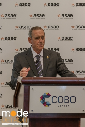 JOHN GRAHAM at ASAE Press Conference on Aug 10 2015