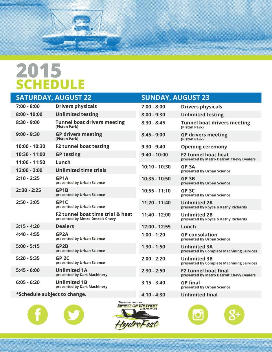 DBR-Schedule