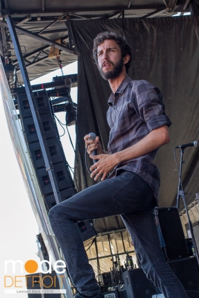 Transit performing at 21st Vans Warped Tour in Auburn Hills Michigan at The Palace of Auburn Hills on July 24th 2015