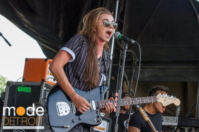 Pvras performing at 21st Vans Warped Tour in Auburn Hills Michigan at The Palace of Auburn Hills on July 24th 2015