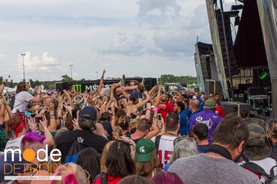 Vans Warped Tour in Auburn Hills Michigan at The Palace of Auburn Hills