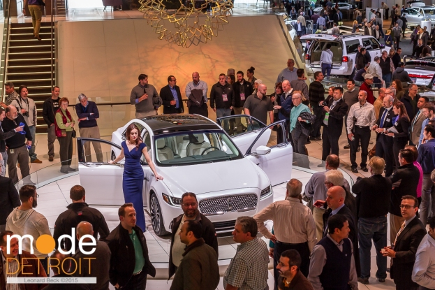 NAIAS press/industrial preview on Jan 11-14 2016